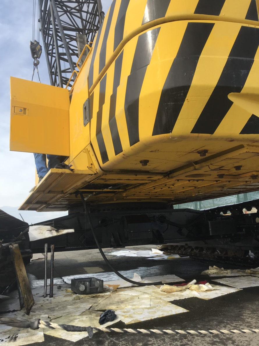 住友建機(SUMITOMO)SC1000-2S-作業開始