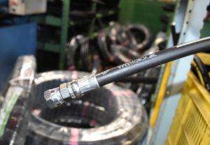 油圧ホースと継ぎ手