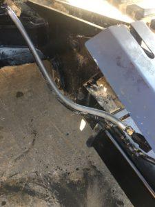 バックホー 出張修理 高圧ホースパンク
