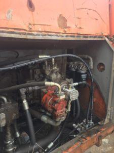 高圧ホース パンク修理