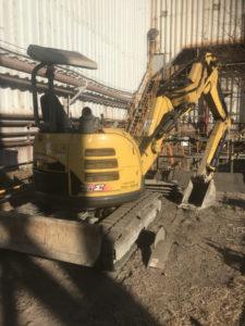修理前ヤンマーバックホーB3-6A