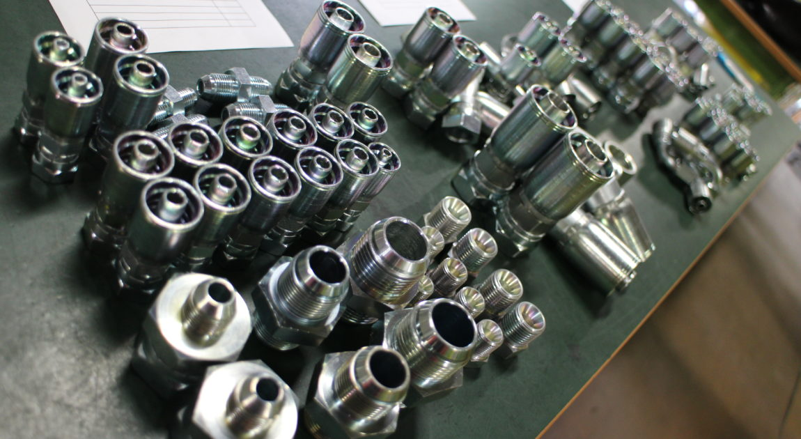 油圧ホース修理部品