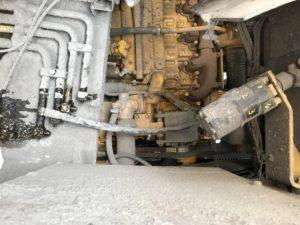 重ダンプ_油漏れ箇所の様子